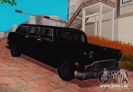 Cabbie Wagon für GTA San Andreas