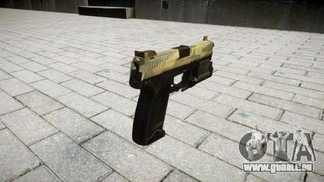 Pistolet HK USP 45 flore pour GTA 4 secondes d'écran