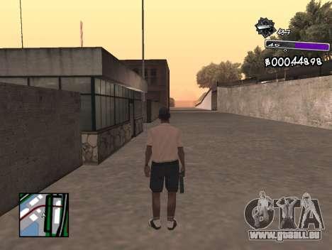 C-HUD Minimal pour GTA San Andreas