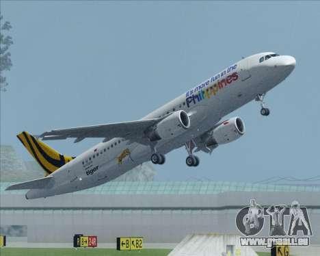 Airbus A320-200 Tigerair Philippines pour GTA San Andreas