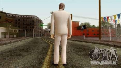 LCN Skin 1 pour GTA San Andreas deuxième écran