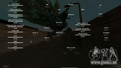 CumHunt - plugin pour la vidéo pour GTA San Andreas deuxième écran