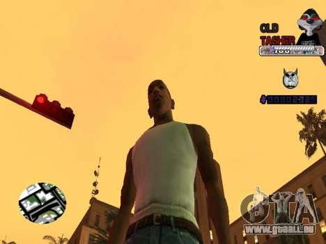 C-HUD Cesar Weezy für GTA San Andreas dritten Screenshot