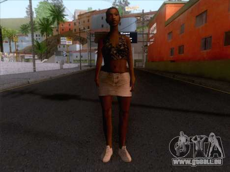 New Ballas Skin 3 für GTA San Andreas