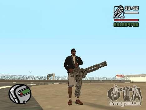 La double propriété de toutes les armes pour GTA San Andreas quatrième écran