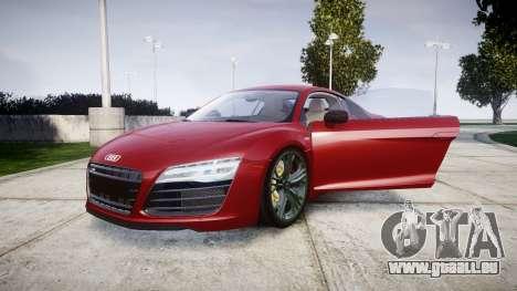 Audi R8 V10 Plus 2014 pour GTA 4