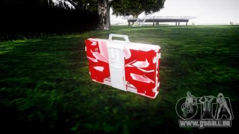 Iron Man Mark V Briefcase v1.1 pour GTA 4
