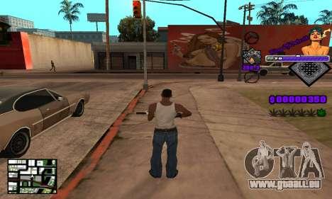 C-HUD King Of Detroit für GTA San Andreas fünften Screenshot