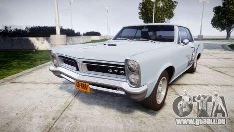 Pontiac GTO 1965 skull pour GTA 4