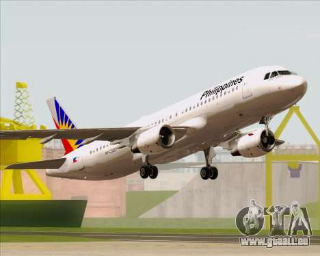 Airbus A320-200 Philippines Airlines für GTA San Andreas