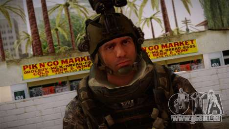 Modern Warfare 2 Skin 5 pour GTA San Andreas troisième écran