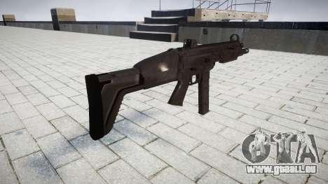 Gun SMT40 für GTA 4 Sekunden Bildschirm