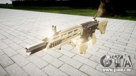 Fusil AR-15 CQB pour GTA 4
