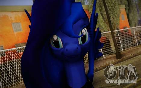 Princess Luna from My Little Pony für GTA San Andreas dritten Screenshot