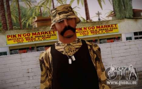 Ginos Ped 14 pour GTA San Andreas troisième écran