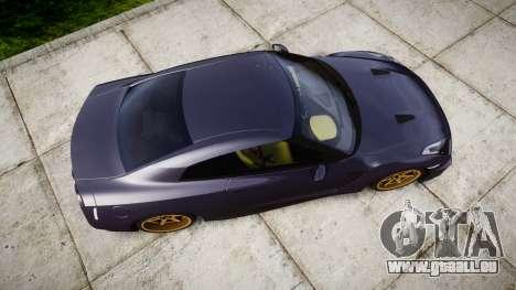 Nissan GT-R R35 2012 pour GTA 4 est un droit