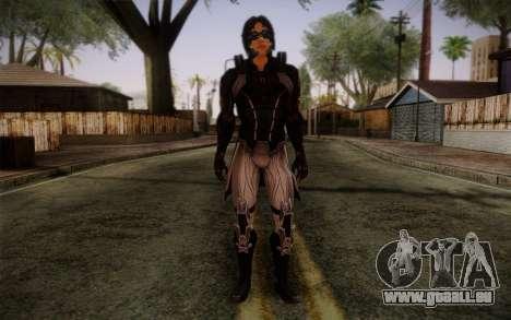 Kei Leng from Mass Effect 3 für GTA San Andreas