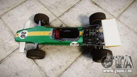 Lotus Type 49 1967 [RIV] PJ25-26 pour GTA 4 est un droit