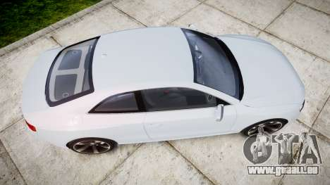 Audi RS5 2012 v2.0 pour GTA 4 est un droit