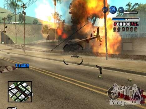 C-HUD Fantastik pour GTA San Andreas cinquième écran