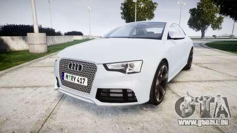 Audi RS5 2012 v2.0 pour GTA 4