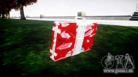 Iron Man Mark V Briefcase v1.1 pour GTA 4 secondes d'écran