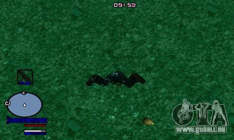 C-HUD Normal pour GTA San Andreas deuxième écran