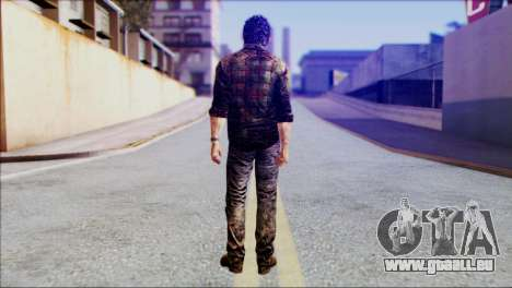 Joel from The Last Of Us für GTA San Andreas zweiten Screenshot