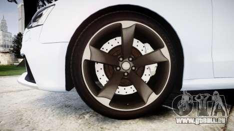 Audi RS5 2012 v2.0 pour GTA 4 Vue arrière