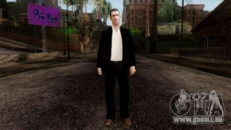 LCN Skin 3 pour GTA San Andreas