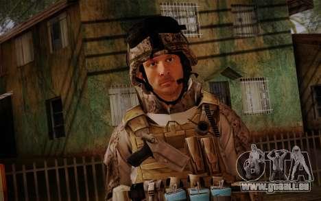 Campo from Battlefield 3 pour GTA San Andreas troisième écran