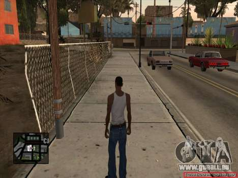 CLEO Date and Time pour GTA San Andreas