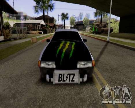 Elegy v2.0 für GTA San Andreas zurück linke Ansicht