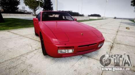 Porsche 944 Turbo 1989 pour GTA 4