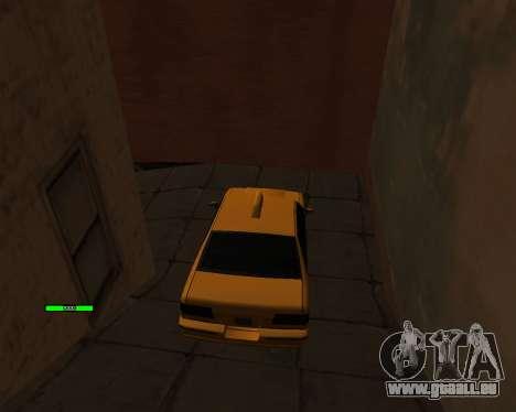 Indicateur de HP de la voiture pour GTA San Andreas