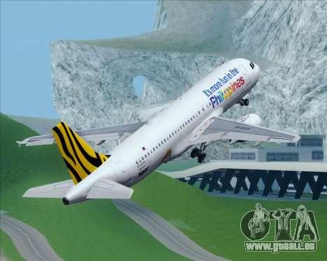 Airbus A320-200 Tigerair Philippines für GTA San Andreas