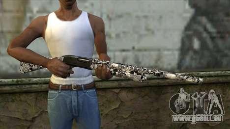 Nouveau Fusil De Chasse pour GTA San Andreas troisième écran