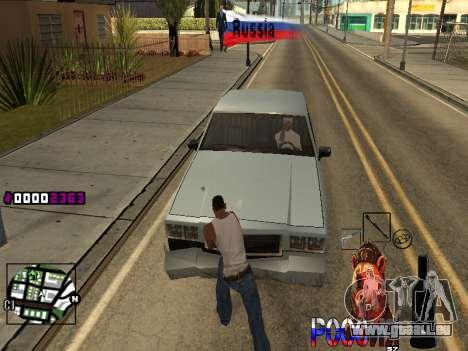 C-HUD RussiA pour GTA San Andreas deuxième écran