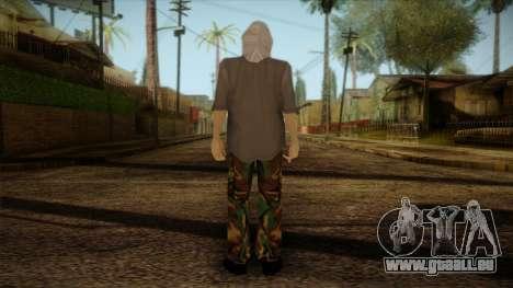Varg Vikernes Skin für GTA San Andreas zweiten Screenshot
