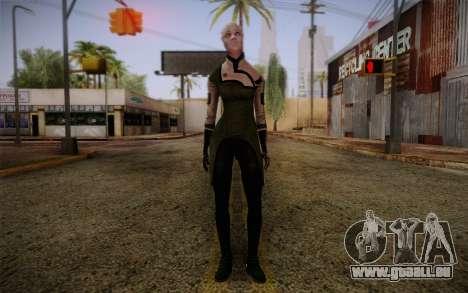 Liara T Soni Scientist Suit from Mass Effect für GTA San Andreas