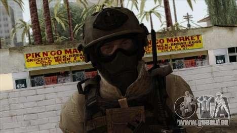 Modern Warfare 2 Skin 15 pour GTA San Andreas troisième écran