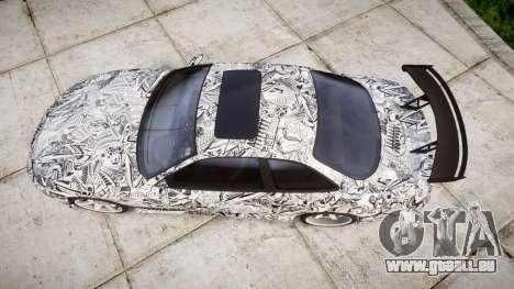 Lexus SC300 1997 Sharpie pour GTA 4 est un droit