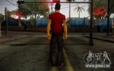 Ginos Ped 32 pour GTA San Andreas deuxième écran
