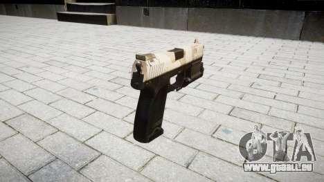 Pistolet HK USP 45 nevada pour GTA 4 secondes d'écran