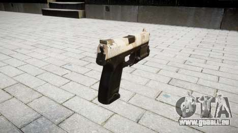 Pistole HK USP 45 nevada für GTA 4 Sekunden Bildschirm