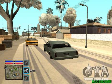 C-HUD Only Ghetto für GTA San Andreas sechsten Screenshot