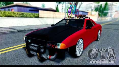 Elegy Slammed für GTA San Andreas linke Ansicht