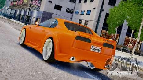 Toyota Supra VeilSide Fortune 03 v1.0 für GTA 4 linke Ansicht