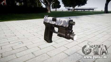 Pistole HK USP 45 Sibirien für GTA 4