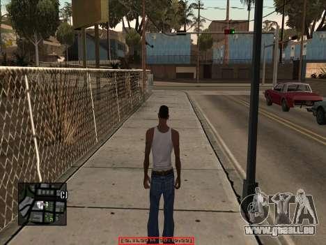 CLEO Date and Time pour GTA San Andreas deuxième écran